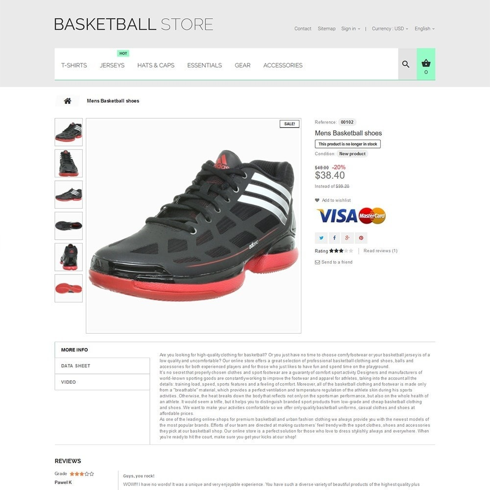 theme - Sport, Loisirs & Voyage - Basketball Store - 3