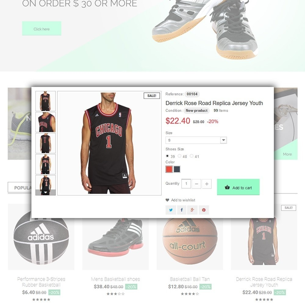 theme - Sport, Loisirs & Voyage - Basketball Store - 5