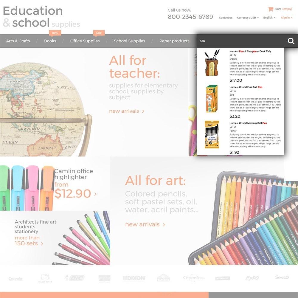 theme - Hogar y Jardín - Education  School Supplies - 6