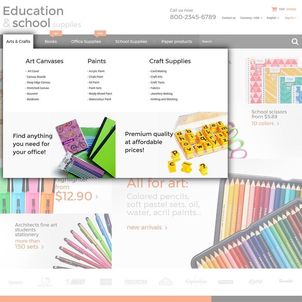 theme - Дом и сад - Education  School Supplies - 4