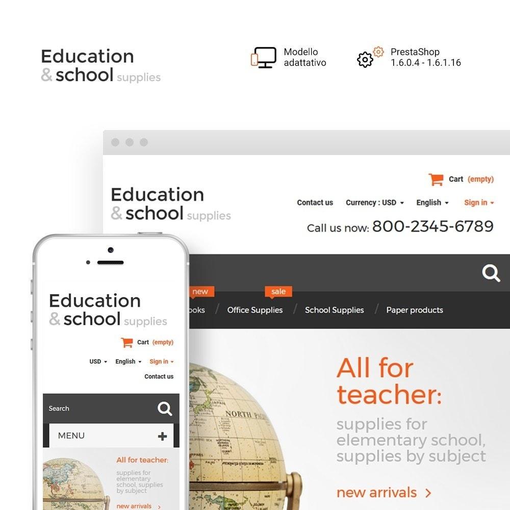theme - Casa & Giardino - Education  School Supplies - 1