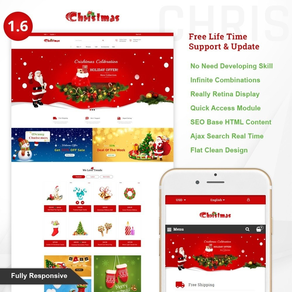 Gift Card - Christmas Store