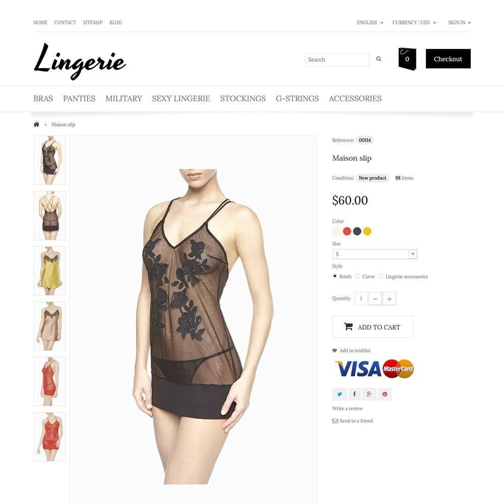 theme - Moda & Calzature - Lingerie - 3
