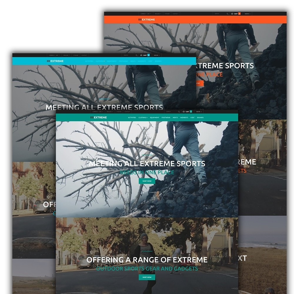 theme - Sports, Activities & Travel - Extreme - Extreme Sports Template - 2