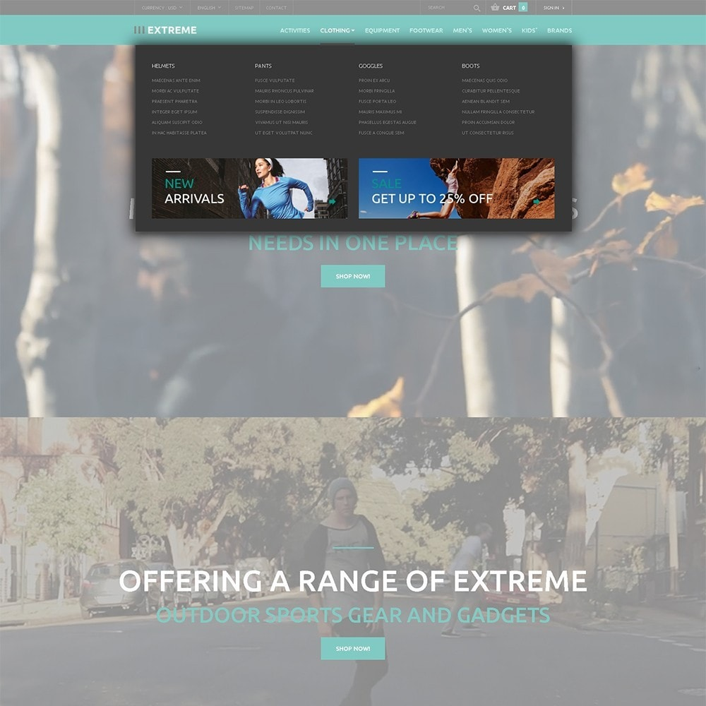 theme - Sports, Activities & Travel - Extreme - Extreme Sports Template - 5