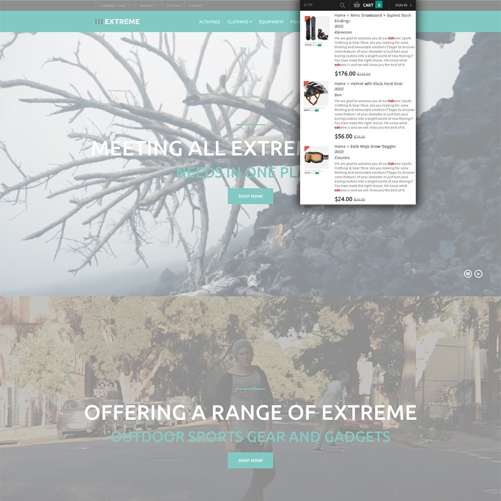 theme - Sports, Activities & Travel - Extreme - Extreme Sports Template - 6