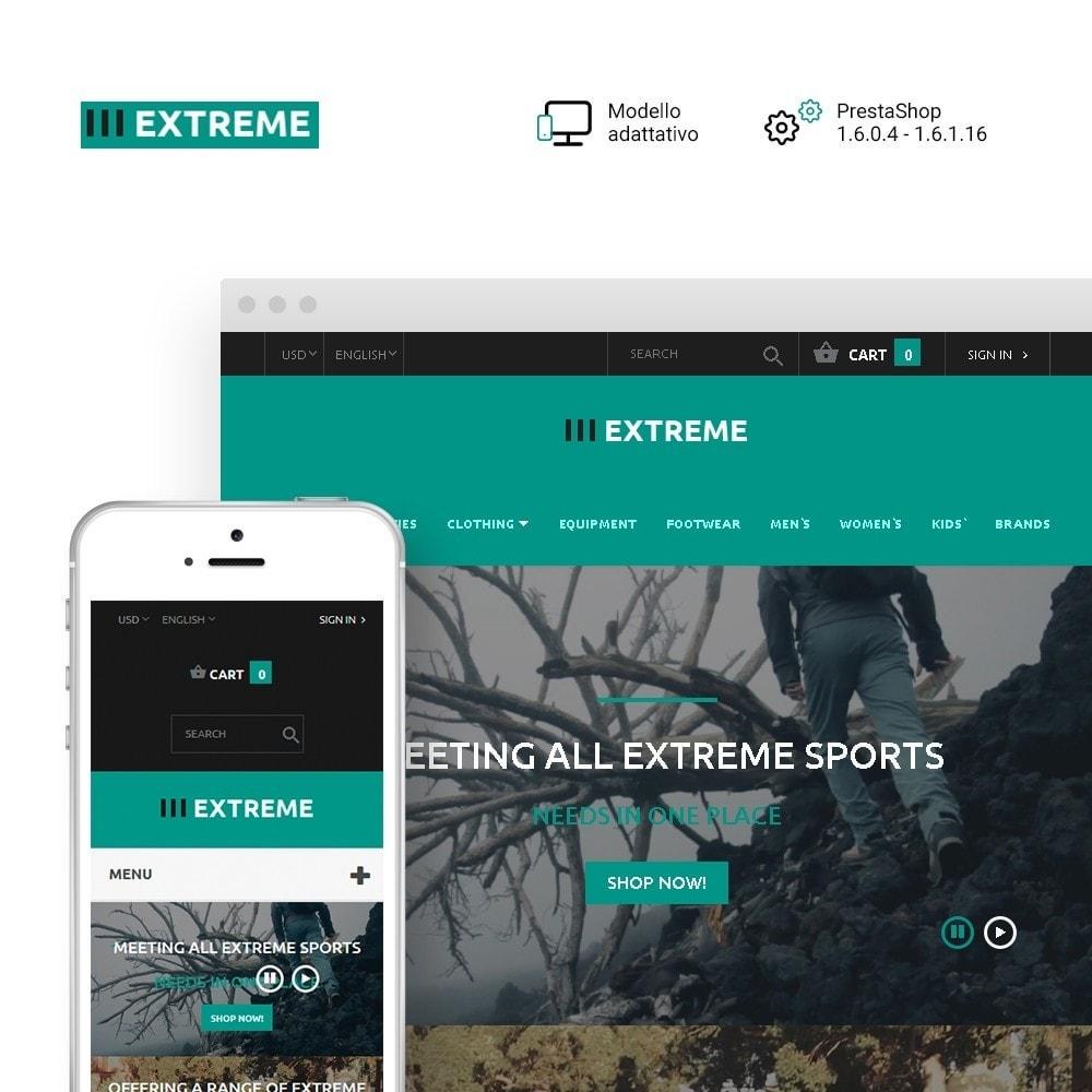 theme - Sport, Attività & Viaggi - Extreme - Responsive Negozio di Abbigliamento Sportivo - 1