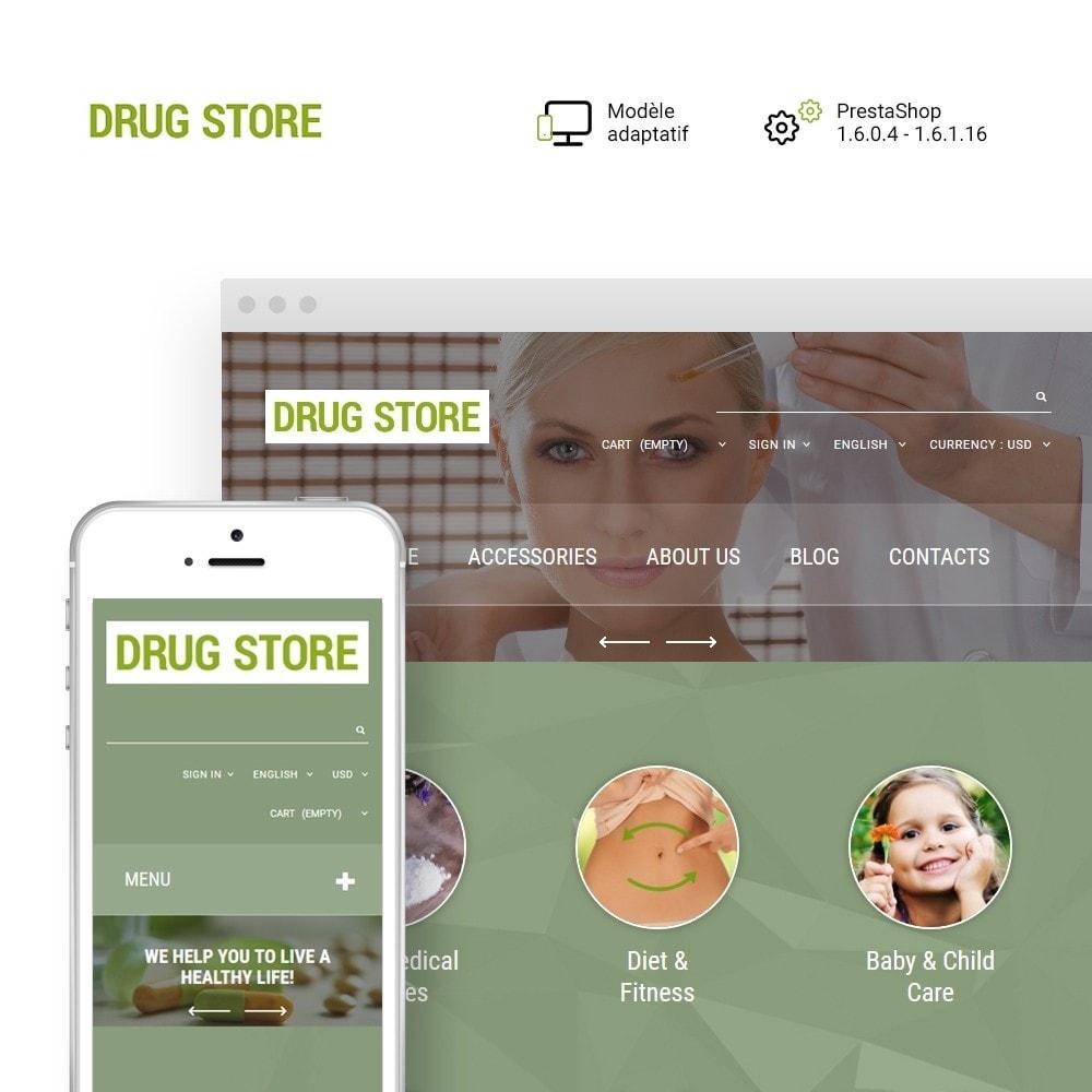 theme - Santé & Beauté - Drug Store - 1