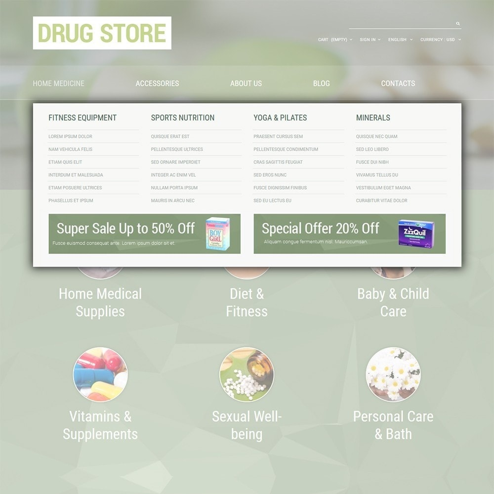 theme - Salute & Bellezza - Drug Store - 5