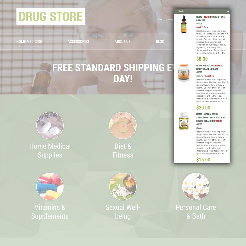 theme - Salute & Bellezza - Drug Store - 6