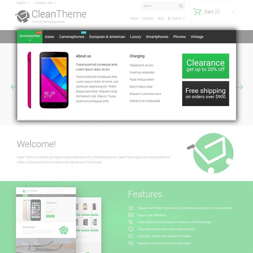 theme - Electronique & High Tech - Clean Theme - 4