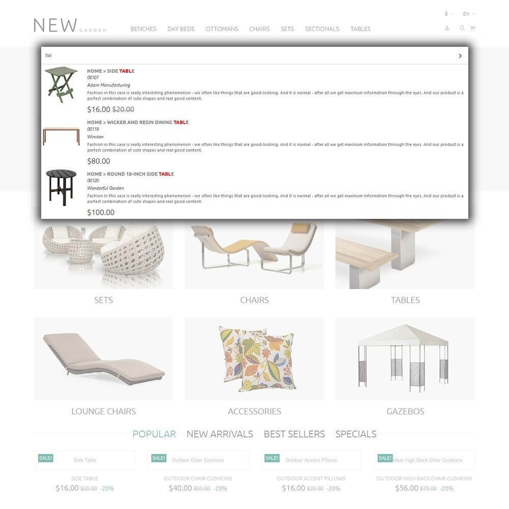 theme - Arte & Cultura - New Garden - 6