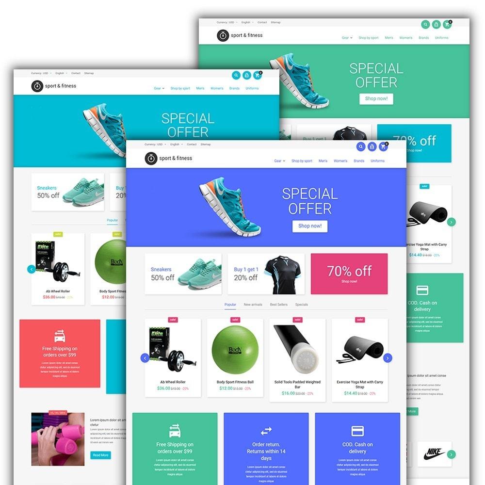 Sport&Fitness - para Sitio de Fitness