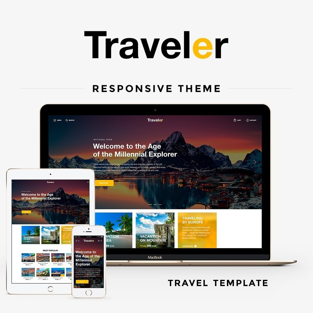 theme - Sports, Activities & Travel - Traveler - 1