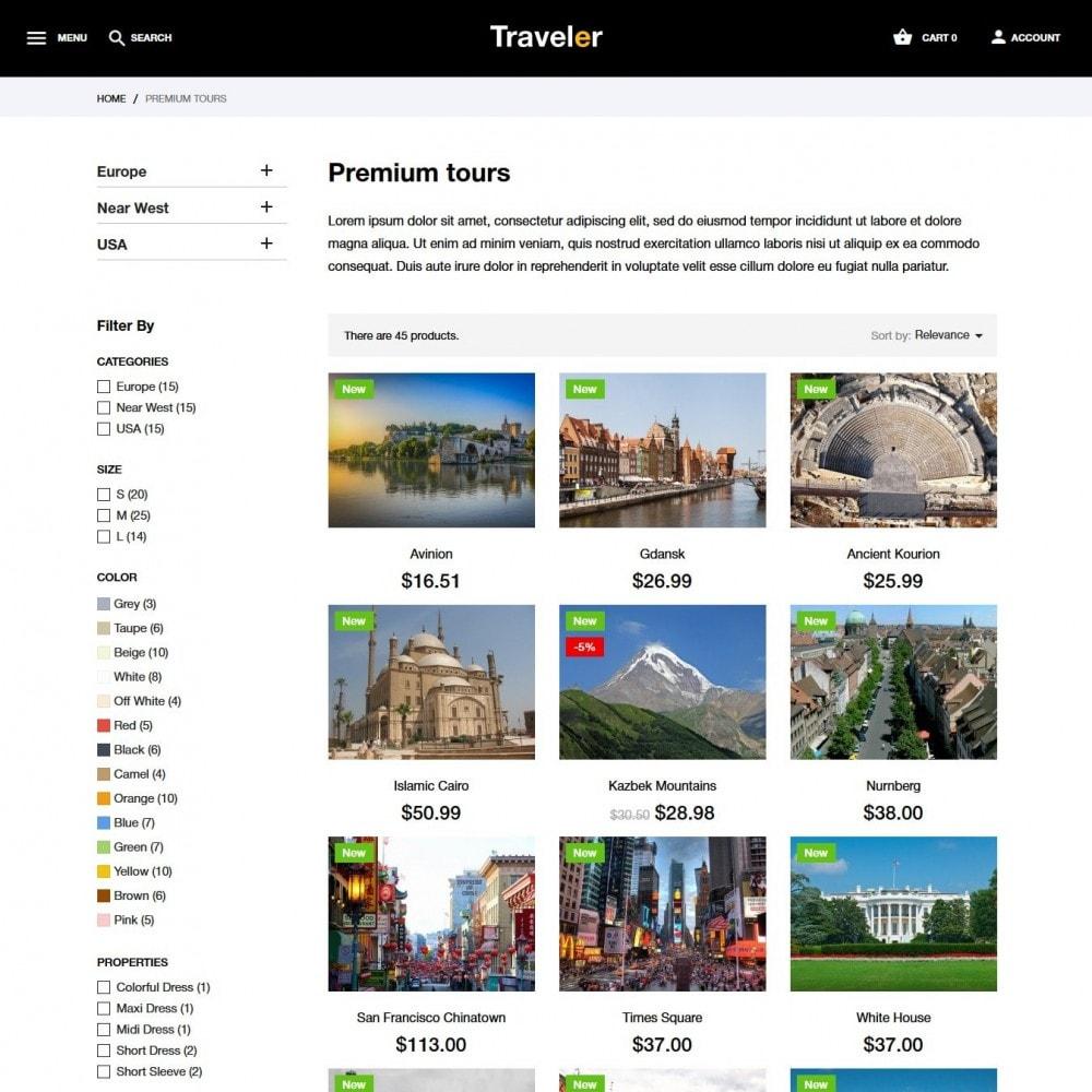 theme - Sport, Attività & Viaggi - Traveler - 6