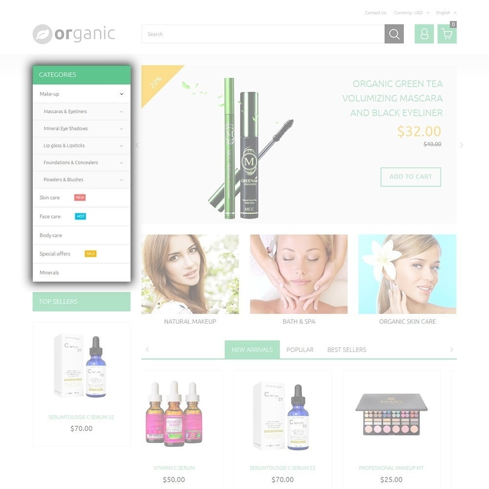 theme - Health & Beauty - Organic - 5