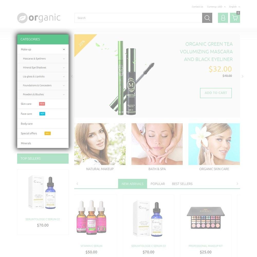 theme - Salud y Belleza - Organic - 5