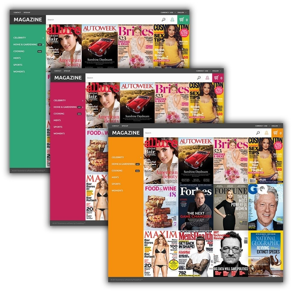 Magazine - Glossy Covers Theme
