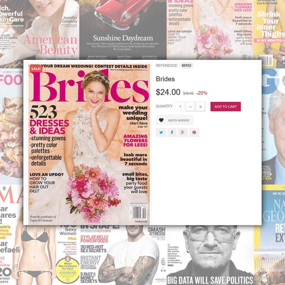 theme - Maison & Jardin - Magazine - Couvertures brillantes thème - 4