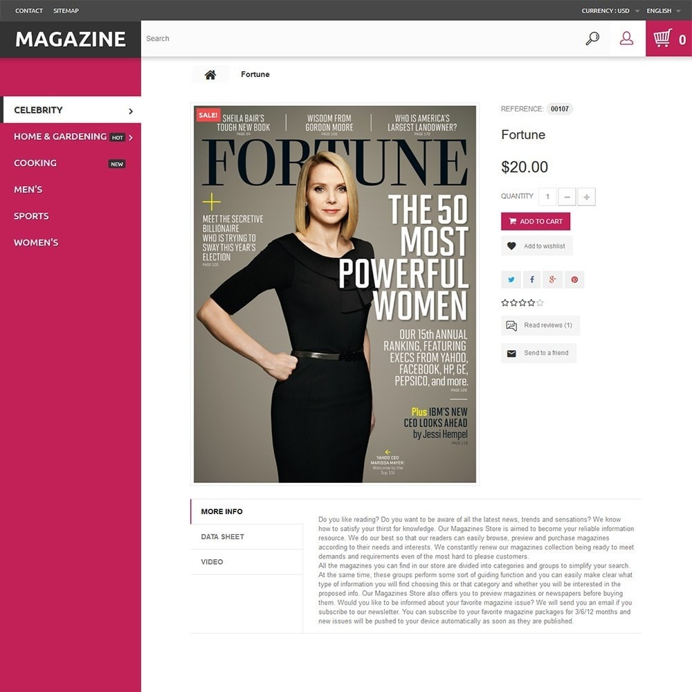 Magazine - para Sitio de Revistas