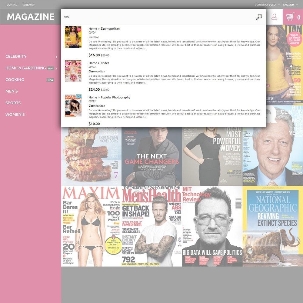 theme - Hogar y Jardín - Magazine - para Sitio de Revistas - 6