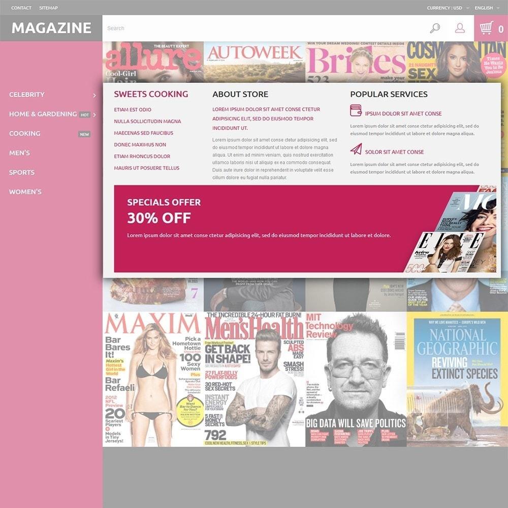 theme - Дом и сад - Magazine - шаблон на тему журнал - 5