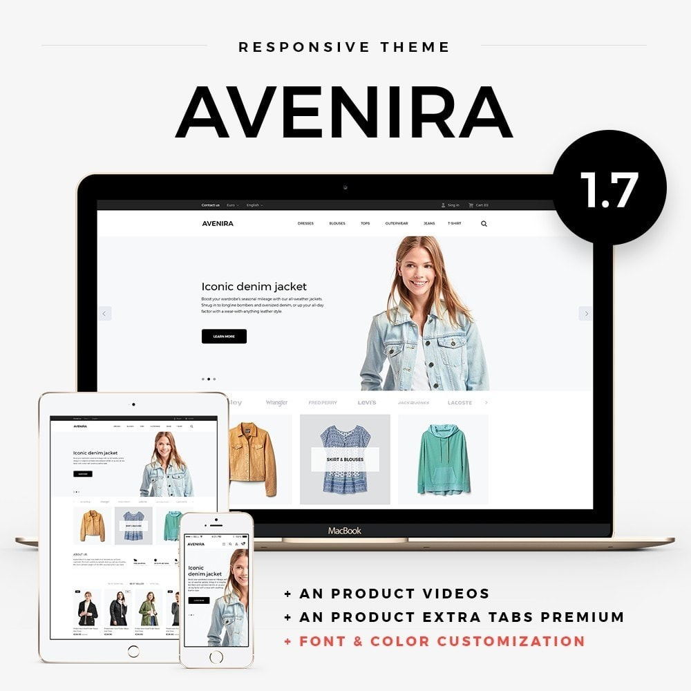 theme - Mode & Schoenen - Avenira Fashion Store - 1