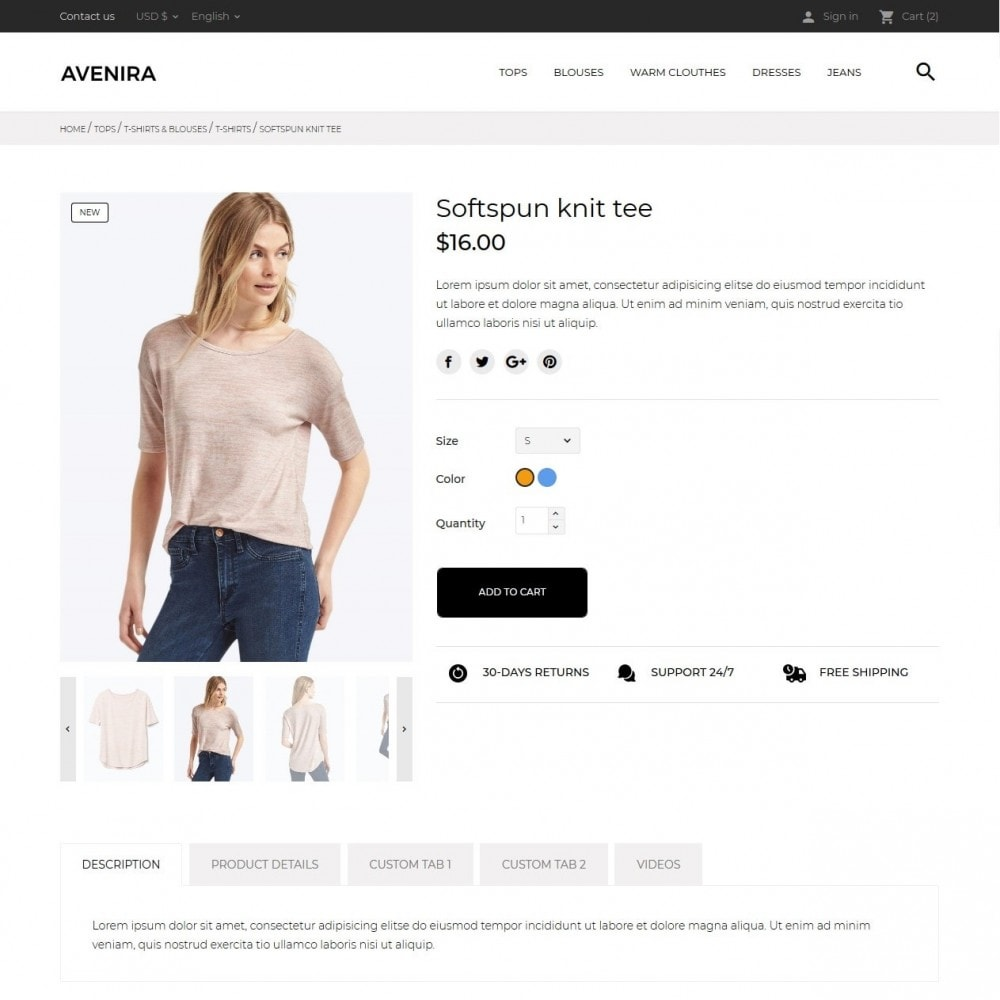 theme - Mode & Schoenen - Avenira Fashion Store - 7