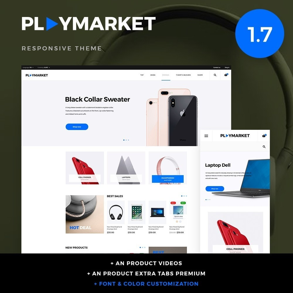PlayMarket - High-tech Shop