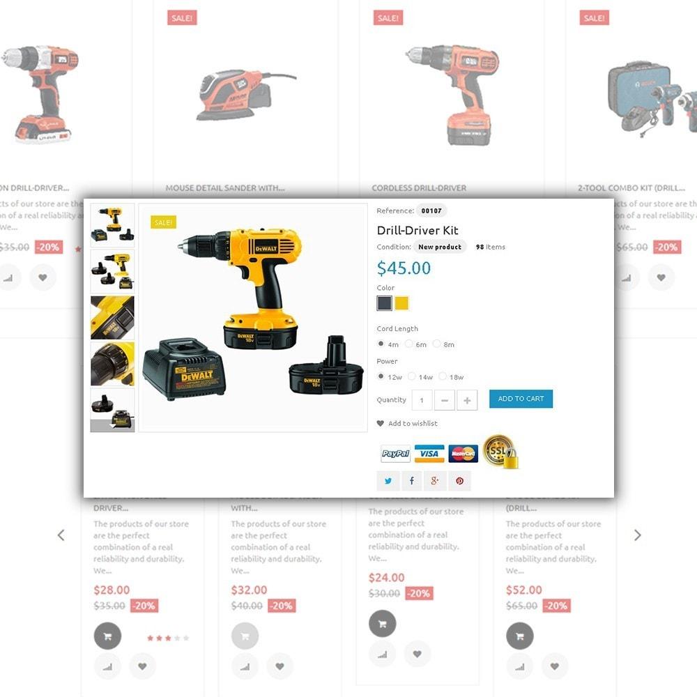 theme - Дом и сад - Tools Market - шаблон на тему ремонт - 4