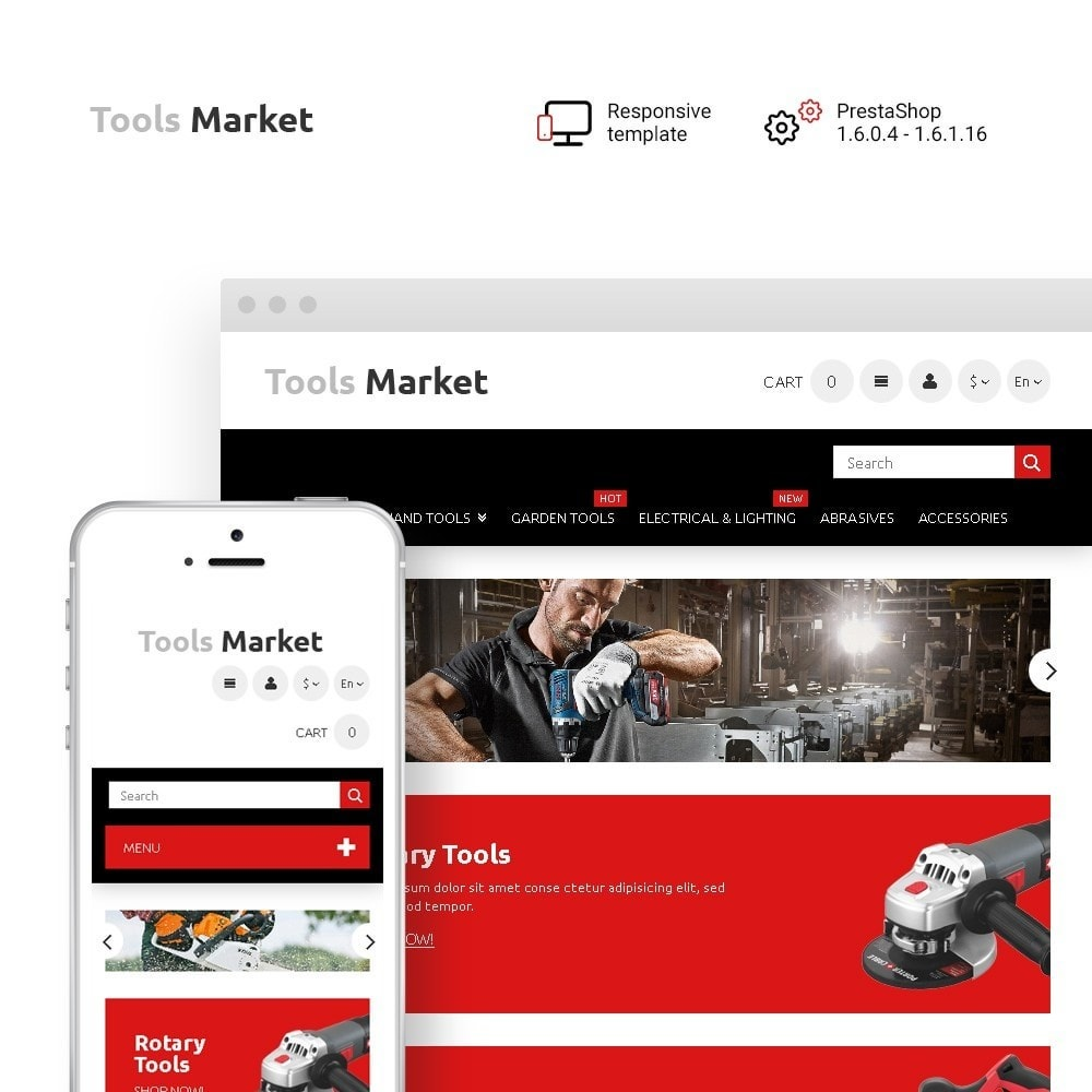 theme - Heim & Garten - Tools Market - Home Repairs Template - 1