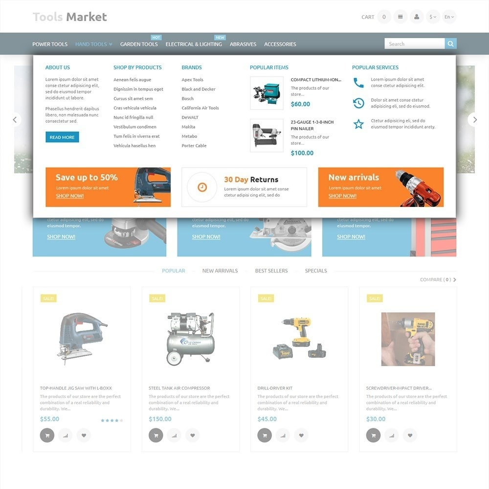 theme - Huis & Buitenleven - Tools Market - Home Repairs Template - 5