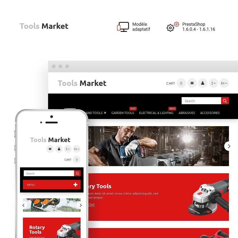 theme - Maison & Jardin - Tools Market - Marché d'outils thème - 1