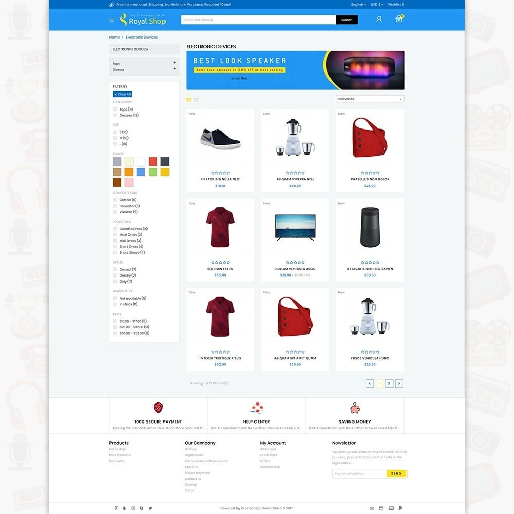 Royal Shop - The Ecommerce Shop