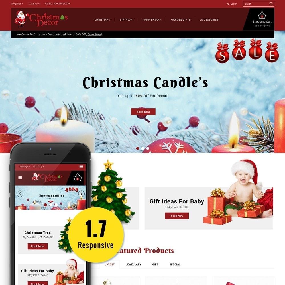 theme - Подарки, Цветы и праздничные товары - Christmas Store - 1