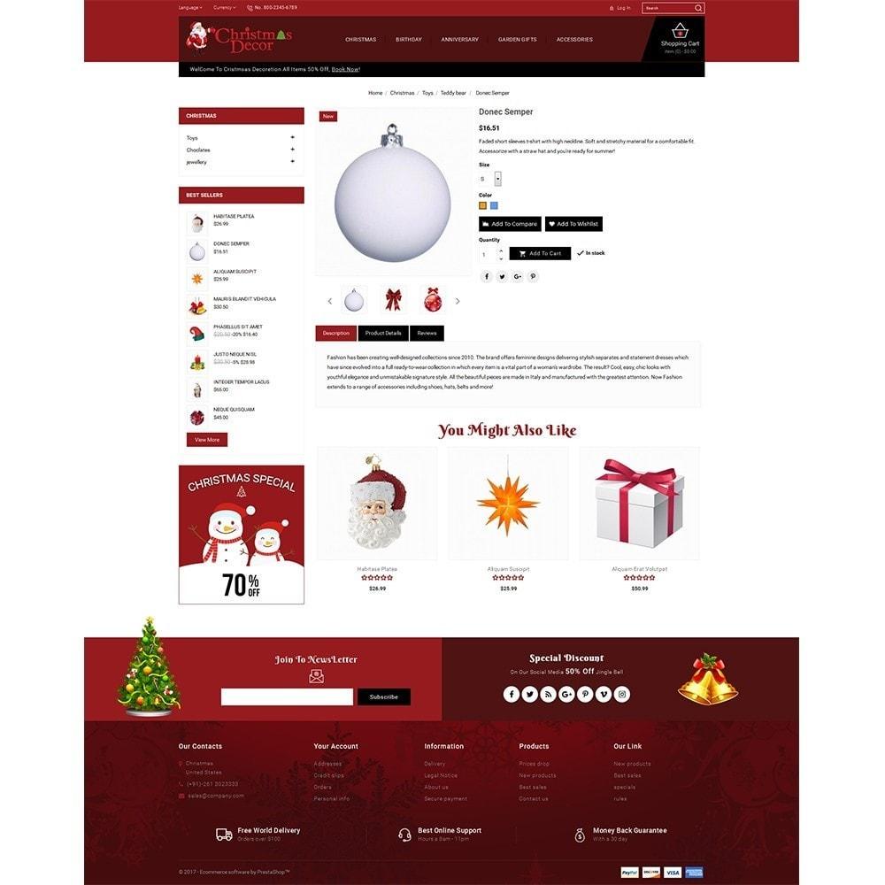 theme - Подарки, Цветы и праздничные товары - Christmas Store - 5