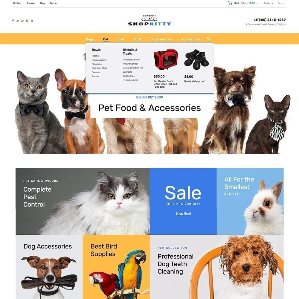 theme - Animali - ShopKitty - 5