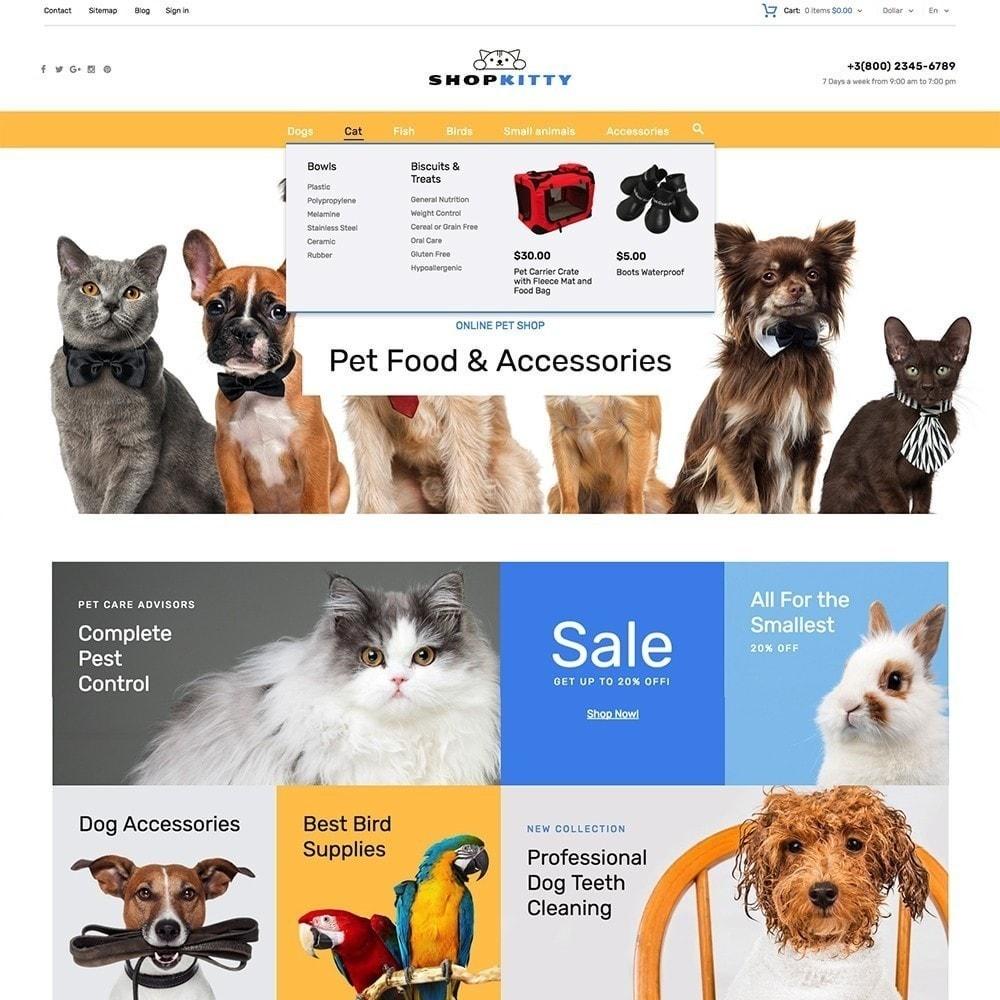 theme - Животные и домашние питомцы - ShopKitty - 5