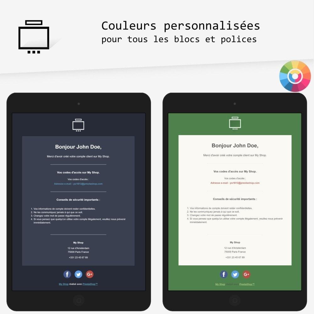 Minimalist - templates d'e-mails