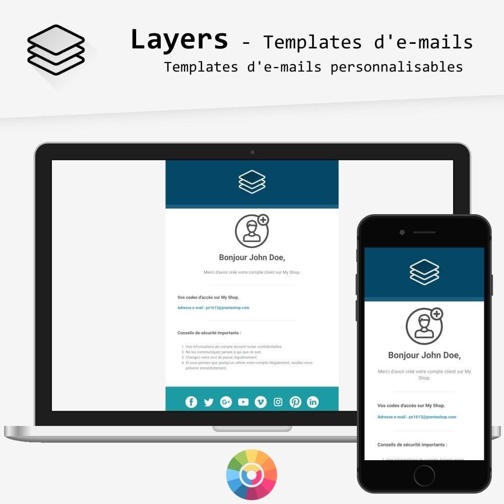 Layers - templates d'e-mails