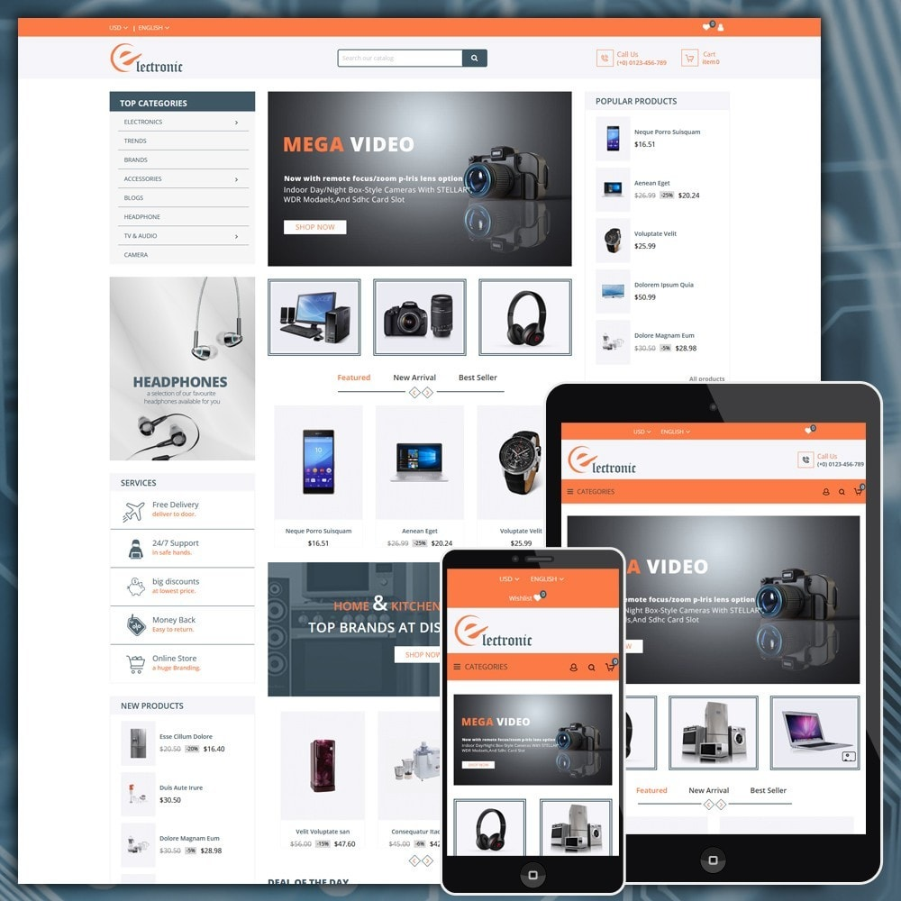 theme - Elektronica & High Tech - Electronics Shop - 1
