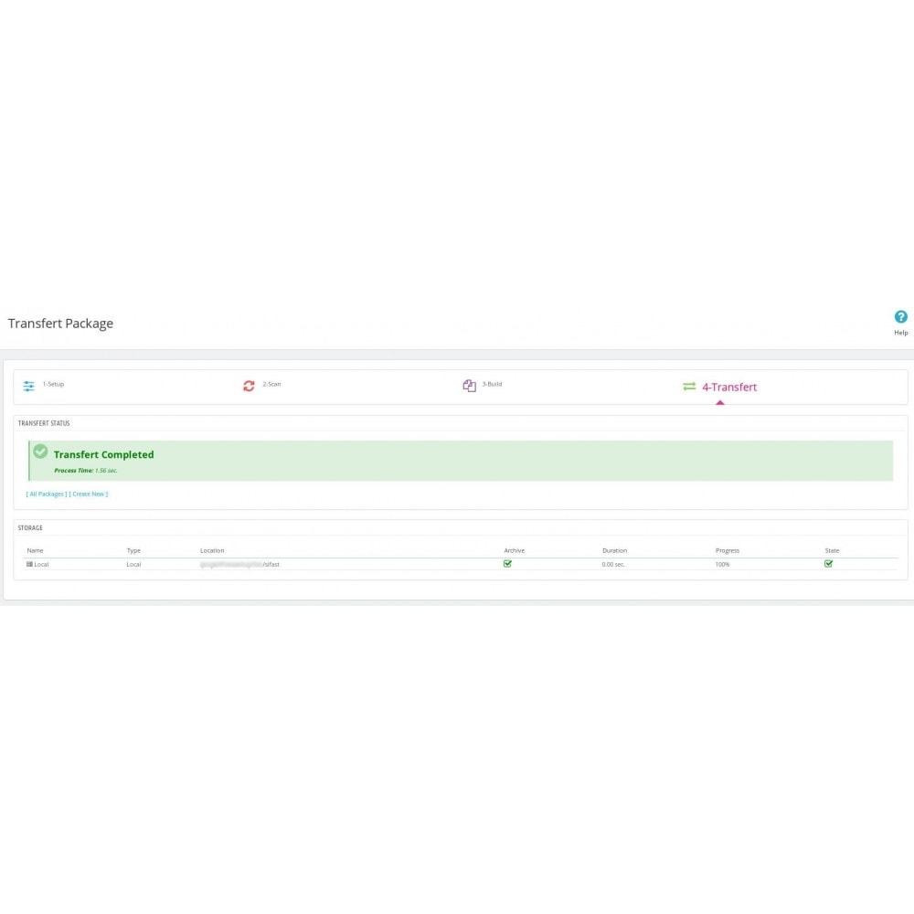 module - Migration de Données & Sauvegarde - Smart Backup - 5