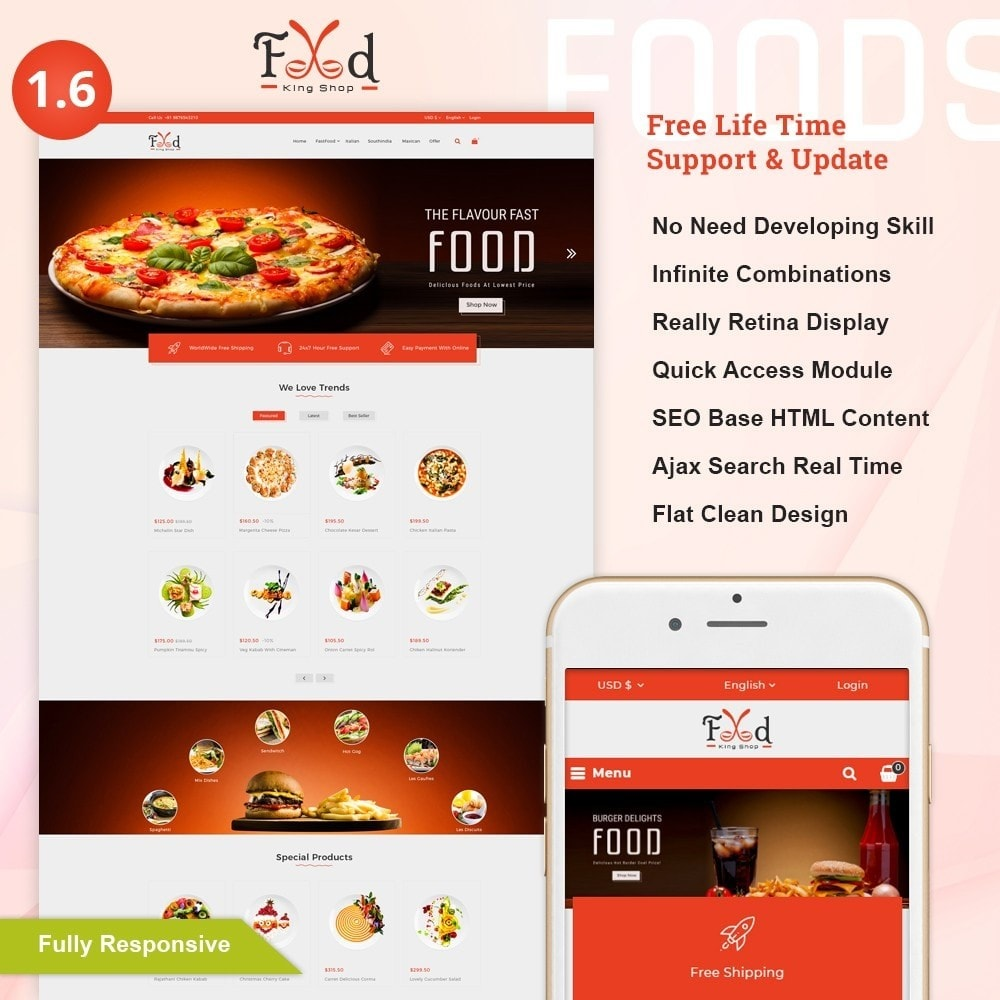 Pizz King - Food Store