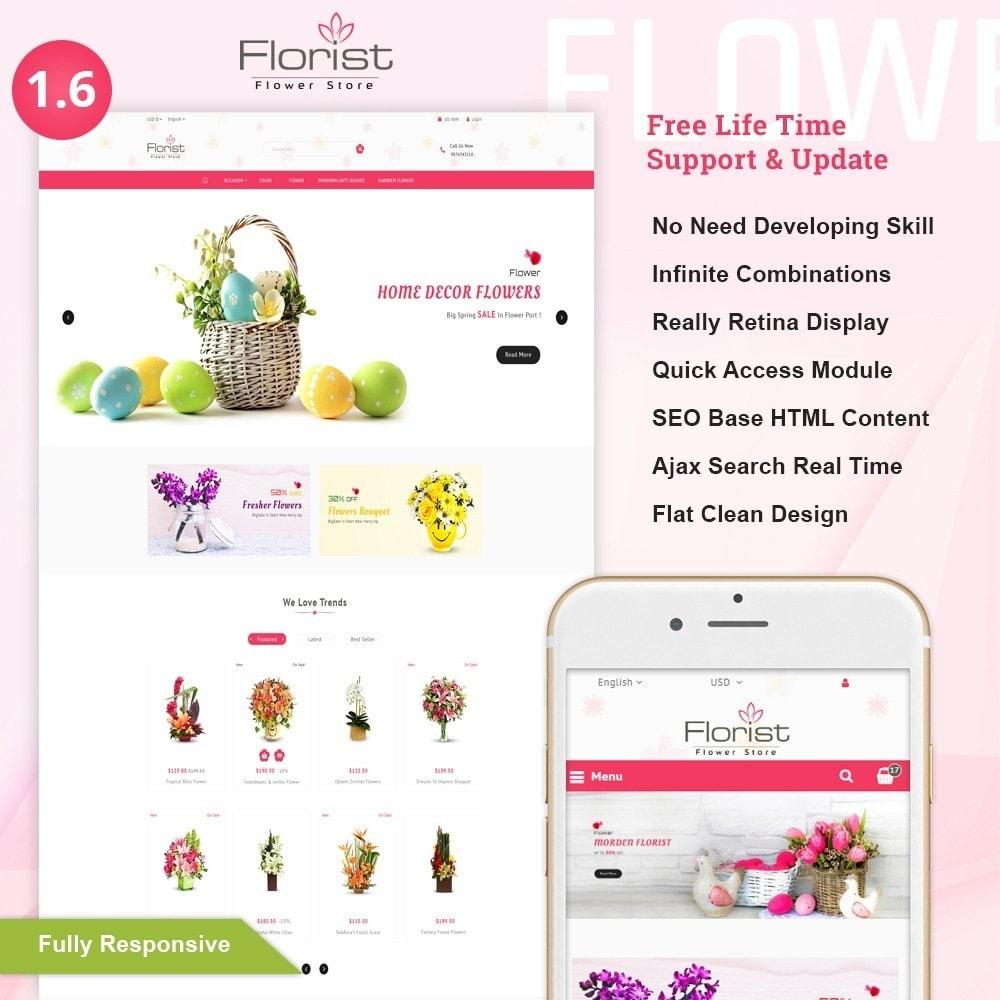 theme - Regali, Fiori & Feste - Florist - Boutique Flower Store - 1
