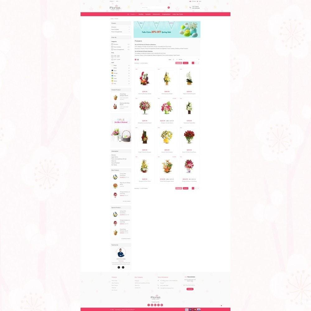 theme - Regalos, Flores y Celebraciones - Florist - Boutique Flower Store - 3