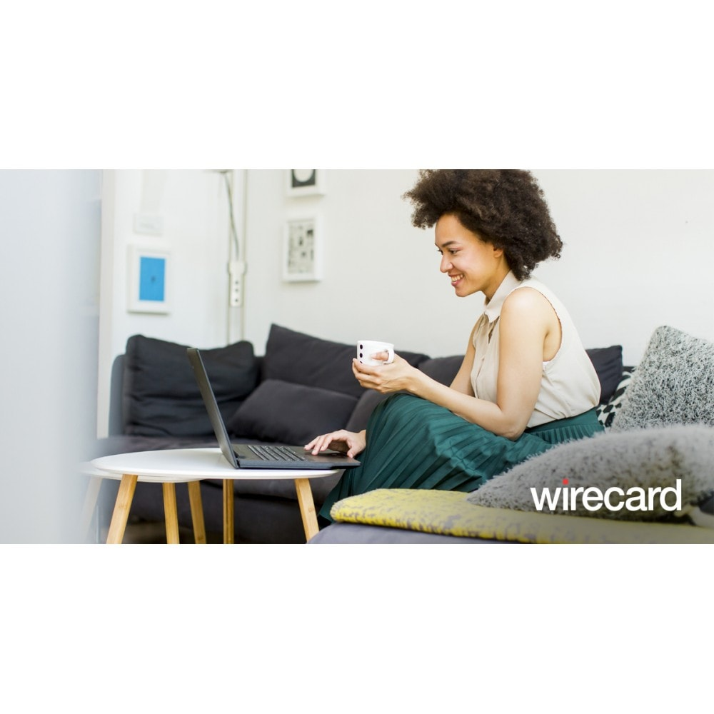 module - Pagamento con Carta di Credito o Wallet - Checkoutportal by Wirecard - 1