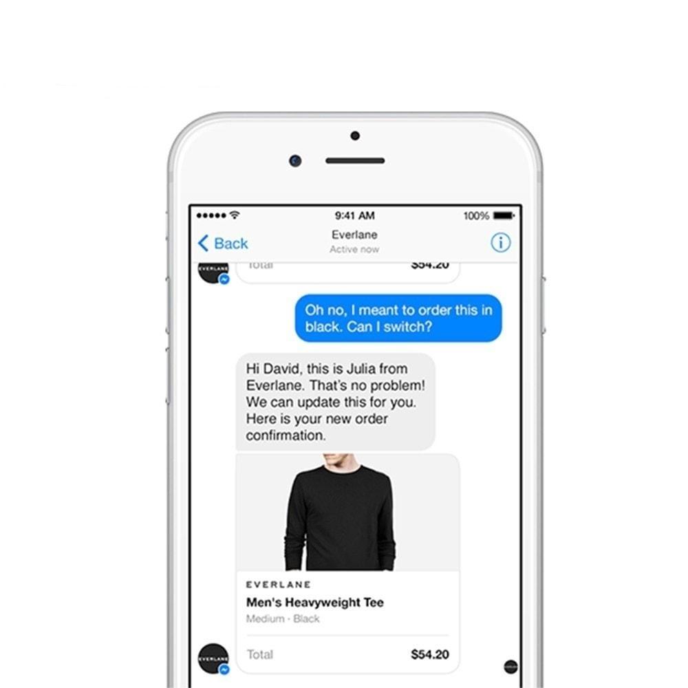 module - Suporte & Chat on-line - Botão Messenger e Chat - 8
