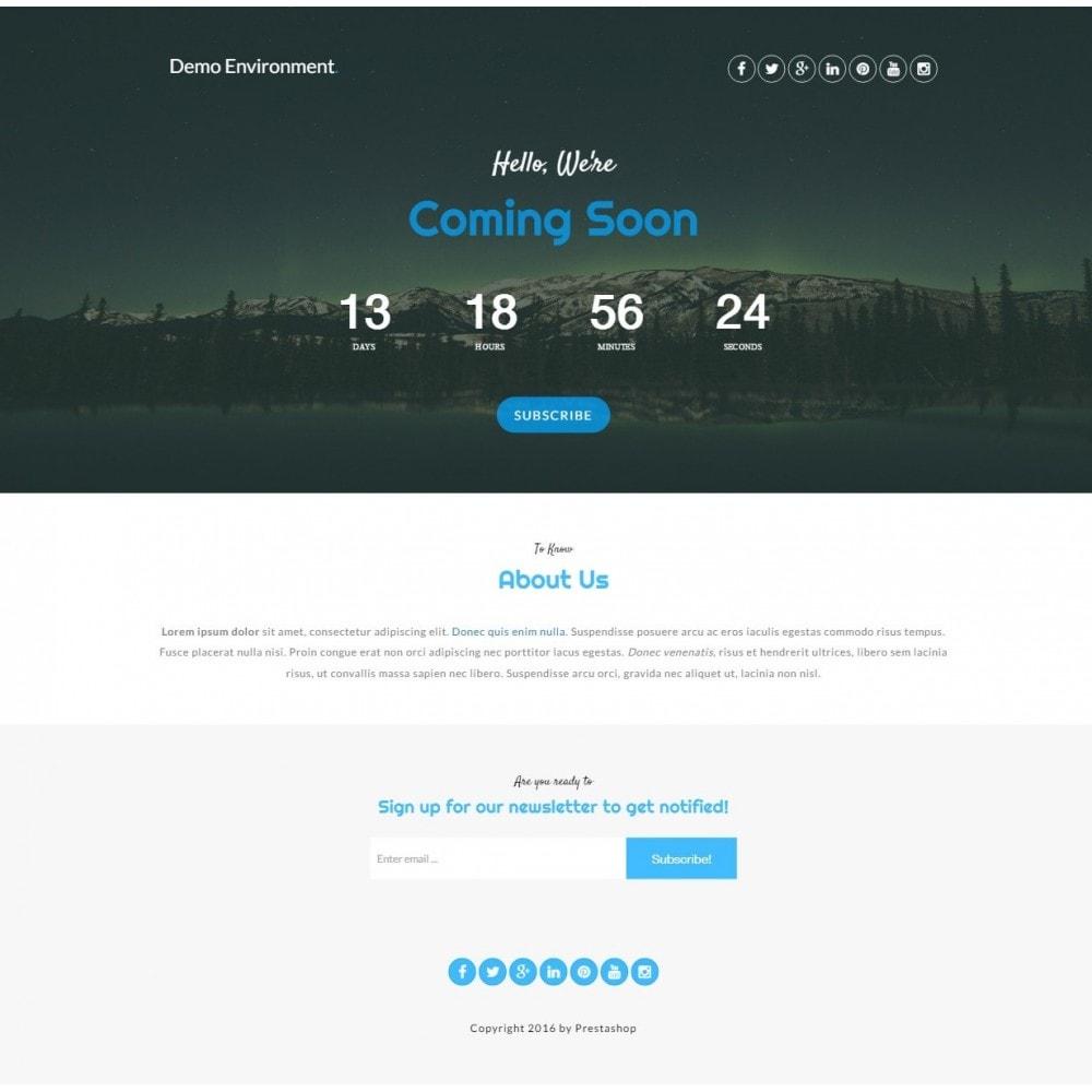 module - Personalizacja strony - Maintenance Pro - Wkrótce strony z odliczaniem - 6