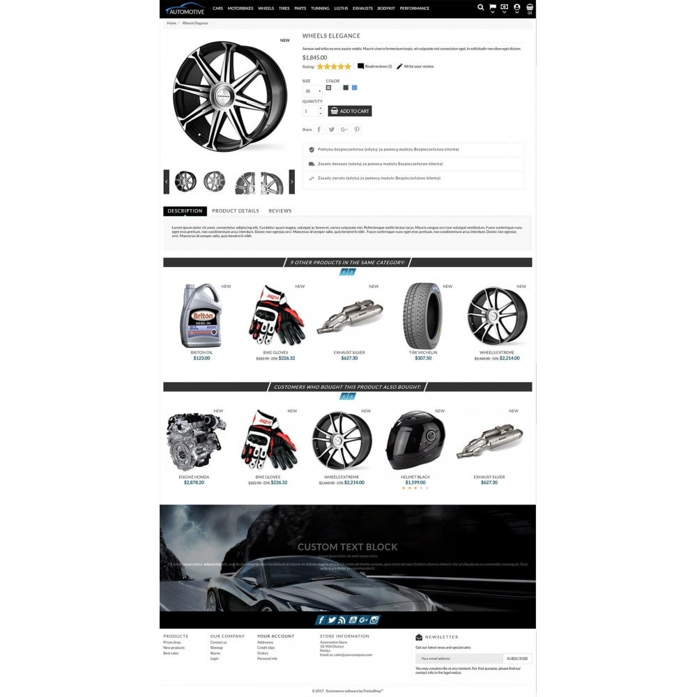theme - Samochody - Automotive Store - 3