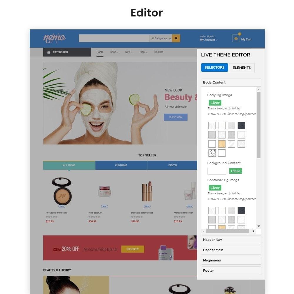 theme - Salute & Bellezza - Leo Nemo -  Cosmetic &  Beauty Store - 2
